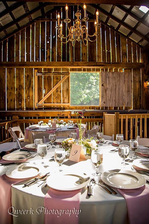 Bloomington IN Venue - The Old Barn at Brown County 1