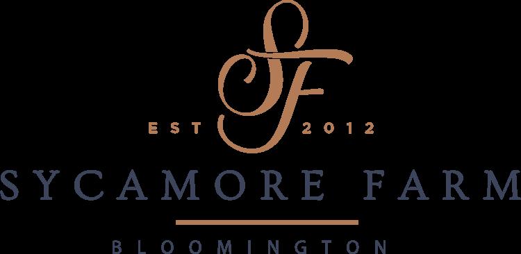 Caterer for Weddings - Sycamore Farm Bloomington Logo